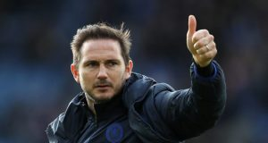 Frank Lampard is happy with his full-back options