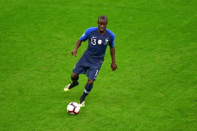Chelsea midfielder N'Golo Kante back to training