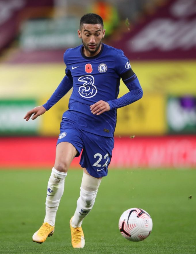 Lampard Confirms Hakim Ziyech Hamstring Injury