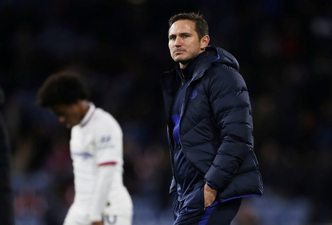 Frank Lampard worried about his job at Chelsea