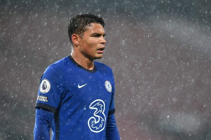 Thiago Silva can't understand reason for Chelsea struggles