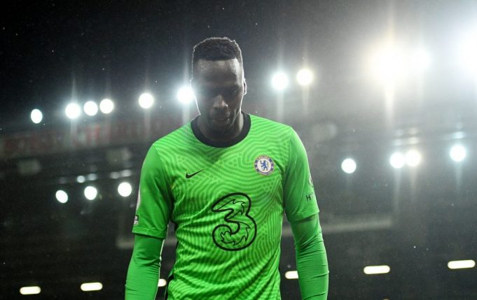 Edouard Mendy Admits To Facing Difficulty With Premier League Intensity