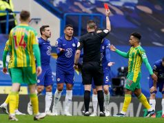 Thiago Silva opens up on his red card decision during West Brom defeat