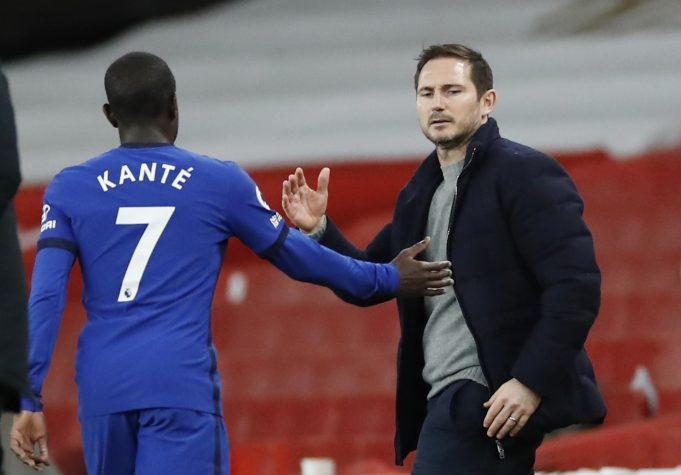 Frank Lampard elaborates his problem managing N'Golo Kante