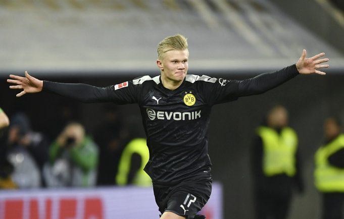 Erling Haaland plays down Chelsea transfer link